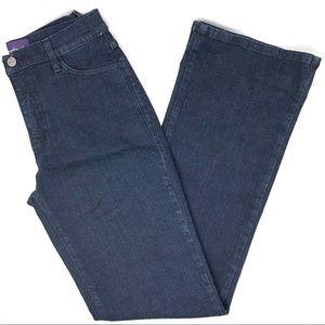 NYDJ Dark Wash High Waist Flare Leg Jeans